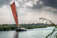 Sailing at Thurne