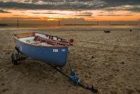 Dingy at Sea Palling