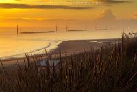 Golden sunrise at Sea Palling