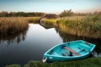 Blue Dingy at Hickling