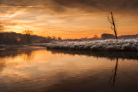 Frosty sunrise at Coltishall