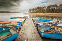 Moored on a jetty at Filby Broad