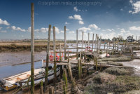 Boats Moored at Morston Quay
