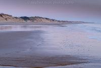 Purple dawn on Hemsby Beach