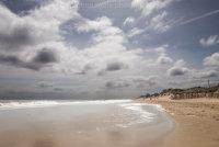 Hemsby Beach into the sun
