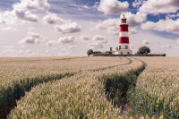 Track to Happisburgh Lighthouse
