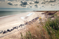 Happisburgh Beach from Clifftop