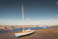 Boat at Brancaster Staithe