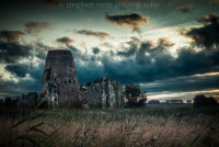 St Benets Abbey at dawn