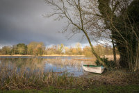 Small boat at Soth Walsham Broad