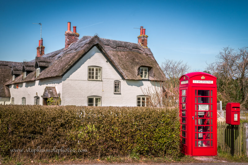 Telephone box at Woodbastwick