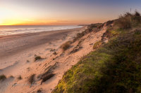 Sunrise at Winterton Beach