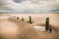 Groynes at Brancaster Beach