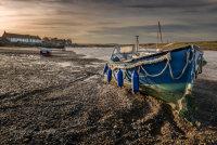 Fishing boat at Burnham Overy Staithe