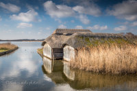 Thatched Boat House at Hickling
