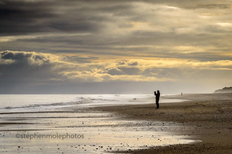 Lonely on Hemsby Beach