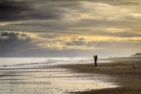 Lonely on Hemsby Beach