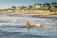 Surfer at Southwold