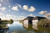 Thatched Boat Sheds