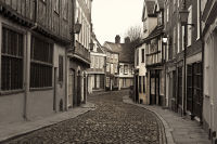 Elm Hill in  Sepia