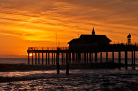 Golden Sunrise over Southwold