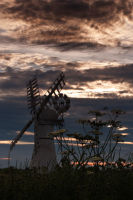Sunset at Thurne Mill