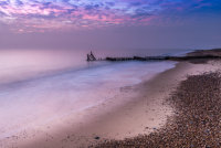 Dawn on Caister Beach