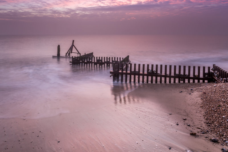Groynes at Caister