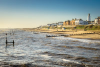 Sea at Southwold in January