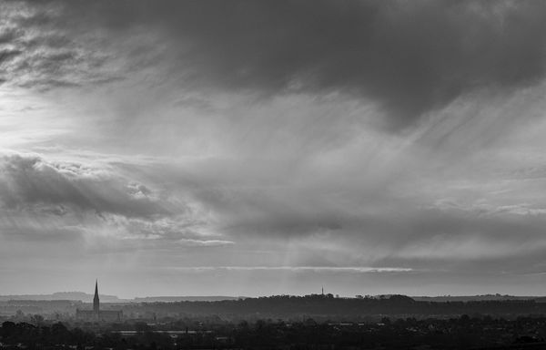 The Cathedral from Old Sarum