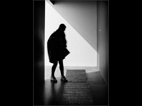 A shadowy entrance