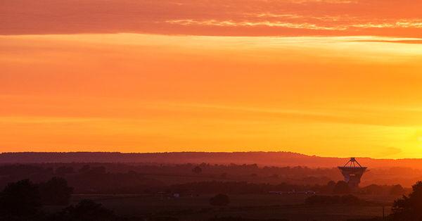 Chilbolton Sunset