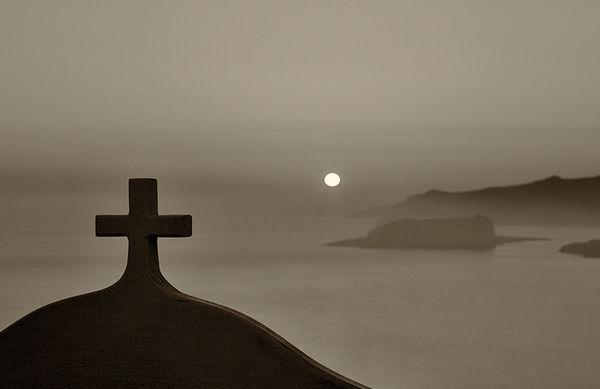 Santorini sundown
