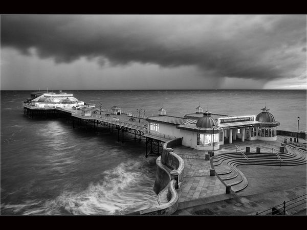 Storm front passing Cromer