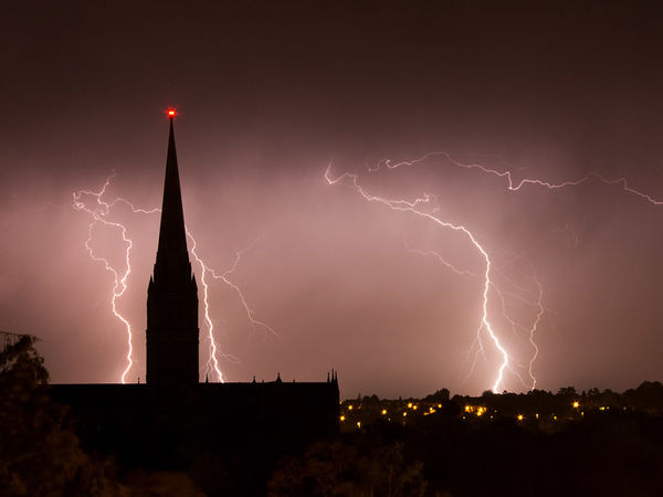 Storm over the Cathedral