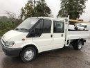 06 reg  ford Transit crew cab tipper £4950+vat