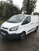 14 reg Ford Transit custom £8850+vat