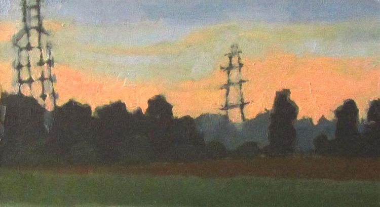 Evening Newton in the Isle