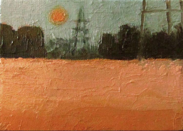 Sahara sun over Walpole Highway