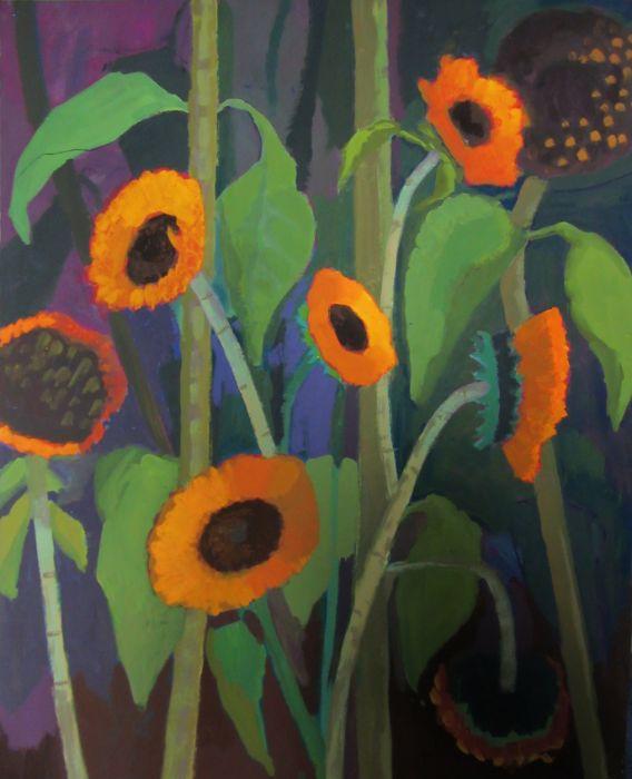 sunflowers 60x77