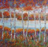 Autumn across the Loch  SOLD