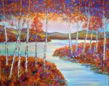 Autumn sunset SOLD