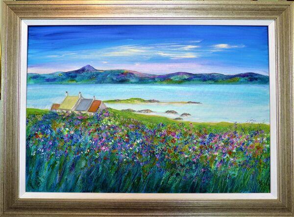 Iona wildflowers SOLD