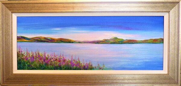 Loch Lomond ~ rosebay willowherb SOLD