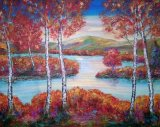 Autumn glory Loch Lomond SOLD