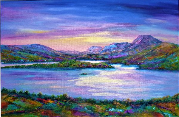 Lomond sunrise SOLD