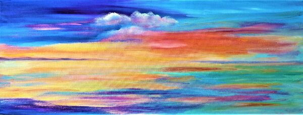 Hebridean Sunset SOLD