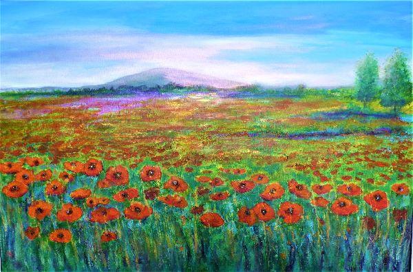 Poppies, Largo, Fife
