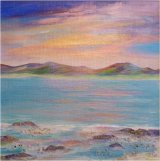 Rock pools, Benbecula    SOLD