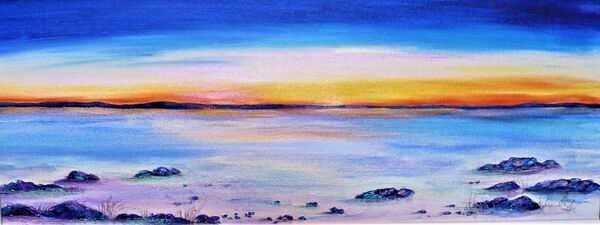 Tiree sunset SOLD